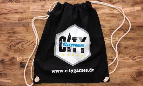 CityGames Bochum JGA Männer Tour: Junggesellenabschied Backpack Turnbeutel